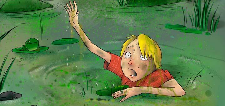 сонник, болото во сне